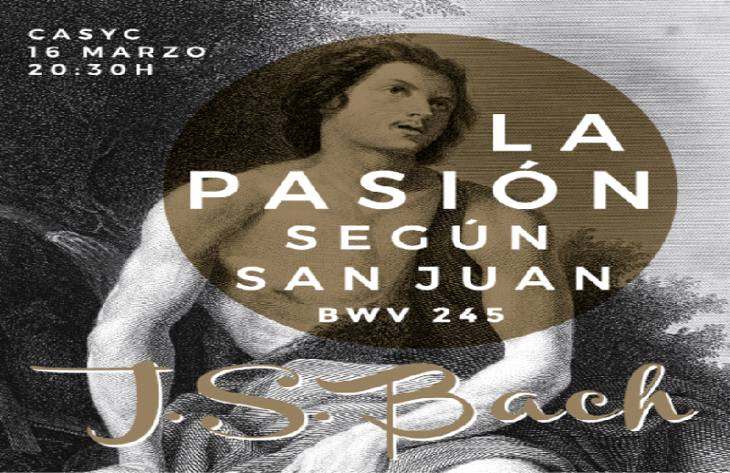 pasion segun san juan, johann sebastian bach, camerata coral universidad de cantabria, inma ferez, oscar gershensohn, academia musica antigua de cantabria